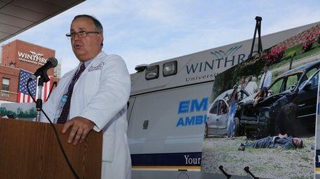 Dr. Alexander Axelrad, chief of trauma at Winthrop-University