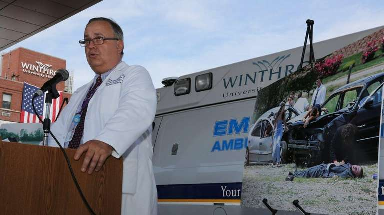 Dr. Alexander Axelrad, chief of trauma at Winthrop-University