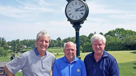 At North Hempstead Country Club, from left, centennial