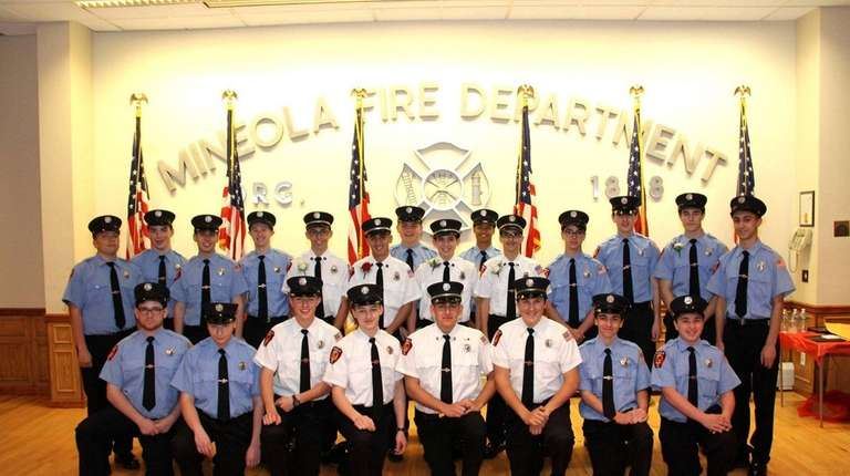 The Mineola Junior Fire Department was named Youth