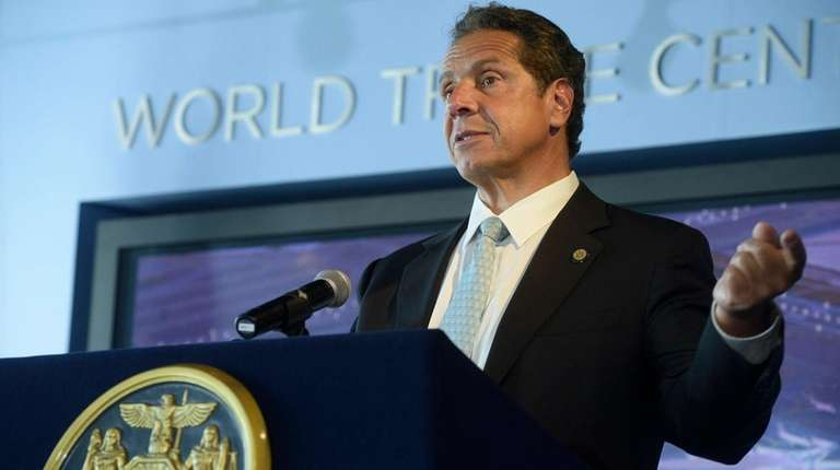 Gov. Andrew M. Cuomo holds a news conference