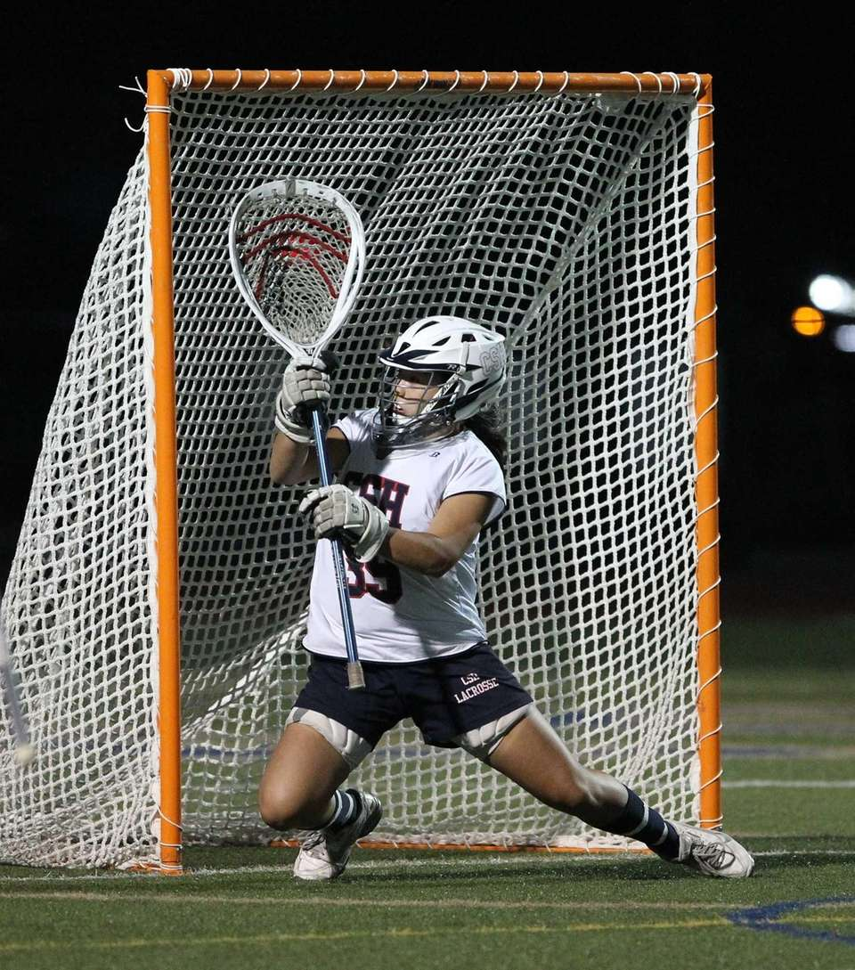 Cold Spring Harbor's Abbey Ngai (39) makes a