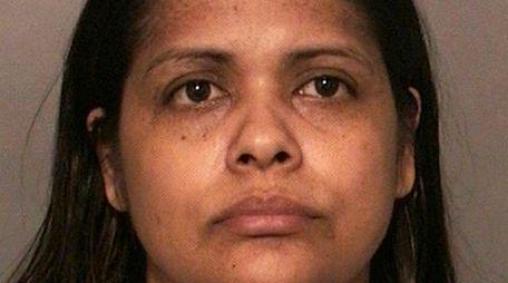 Sonia Villegas, 34, of Amityville, was arrested on