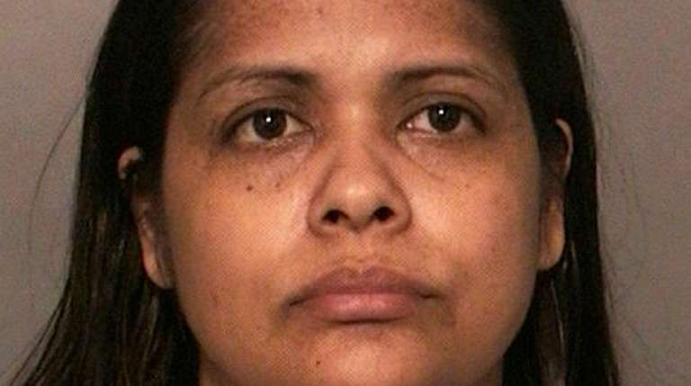 Sonia Villegas, 34, of Amityville, was arrested on