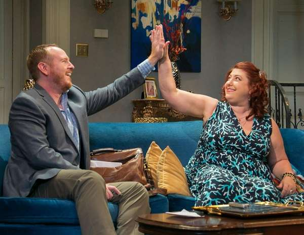 Darren Goldstein and Ashlie Atkinson star in the