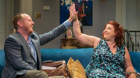 Darren Goldstein and Ashlie Atkinson star in the
