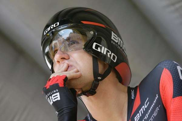 Tejay van Garderen of the U.S. concentrates prior