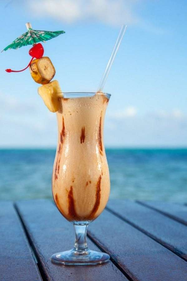 The Bailey's Banana Colada, or BBC, was one