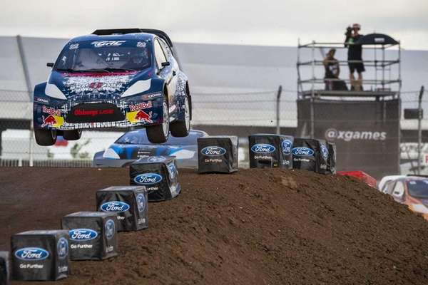 Mitchell DeJong competes in RallyCross Lites during Summer
