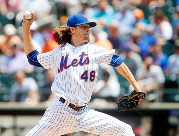 Jacob deGrom allowed one run in seven innings