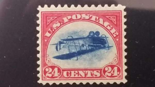 A rare stamp, known as