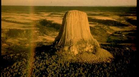 Devils Tower National Monument in Wyoming.