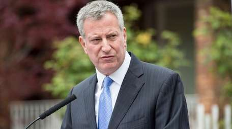 Mayor Bill de Blasio reported two official trips