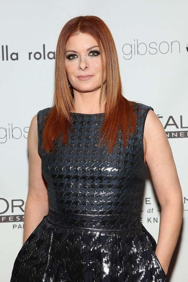 Debra Messing says she is