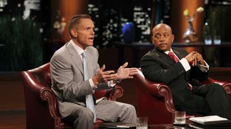 Kevin Harrington, left, from ABC's hit show