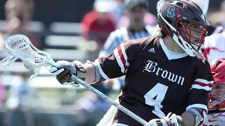 Brown All-American attack Dylan Molloy won the Tewaaraton