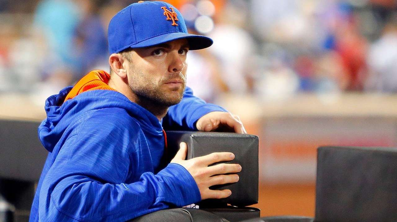 David Wright of the New York Mets looks
