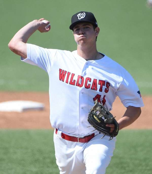 Wheatley starting pitcher John Ryan delivers a pitch