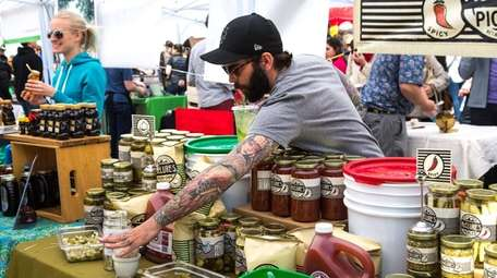 Smorgasburg, a popular collection of food vendors in