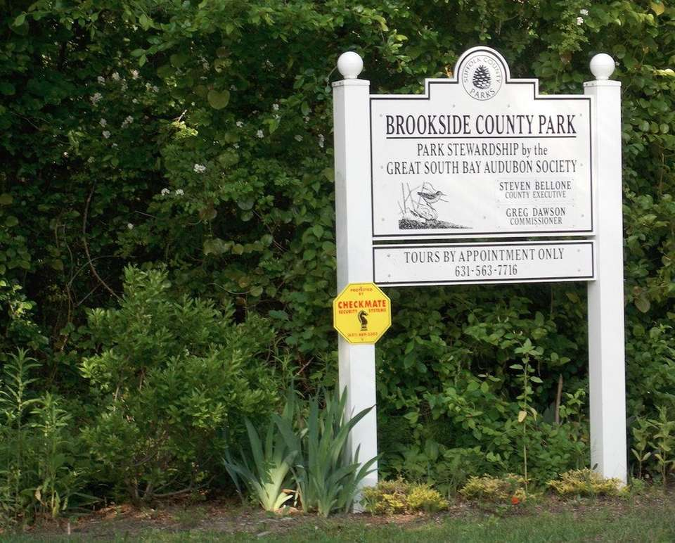BROOKSIDE COUNTY PARK, 59 Brook St., Sayville, 631-854-4949,