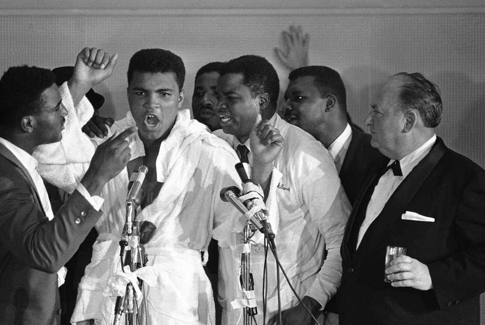 Never for a loss of words, Muhammad Ali