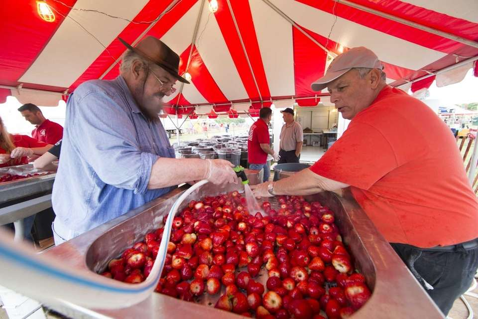 The Mattituck Lions Club Strawberry Festival is a