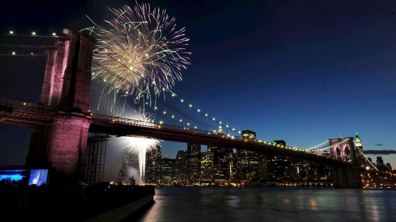 Image result for macy's fireworks east river