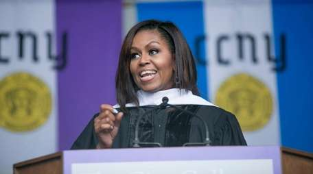 First lady Michelle Obama speaks Friday, June 3,