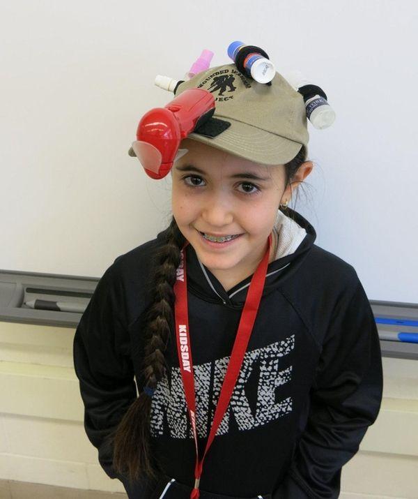 Kidsday reporter Naya Akler made her perfect summer