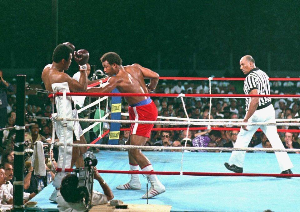Rumble in the Jungle: Muhammad Ali vs  George Foreman | Newsday
