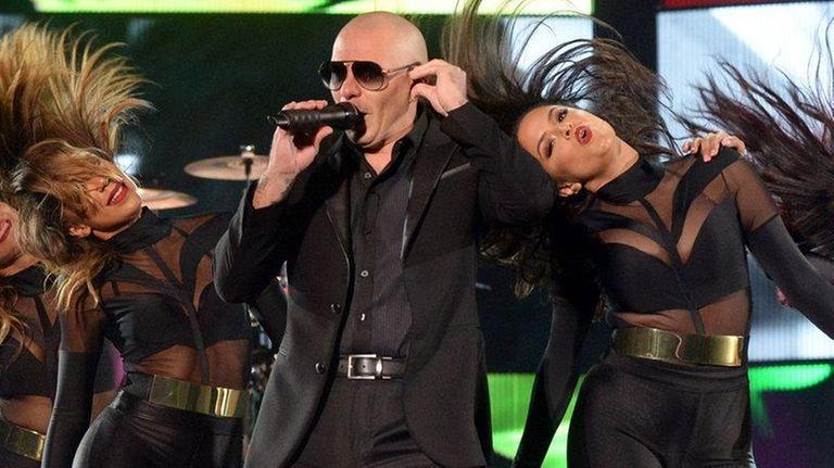 Pitbull comes to Jones Beach on Saturday.
