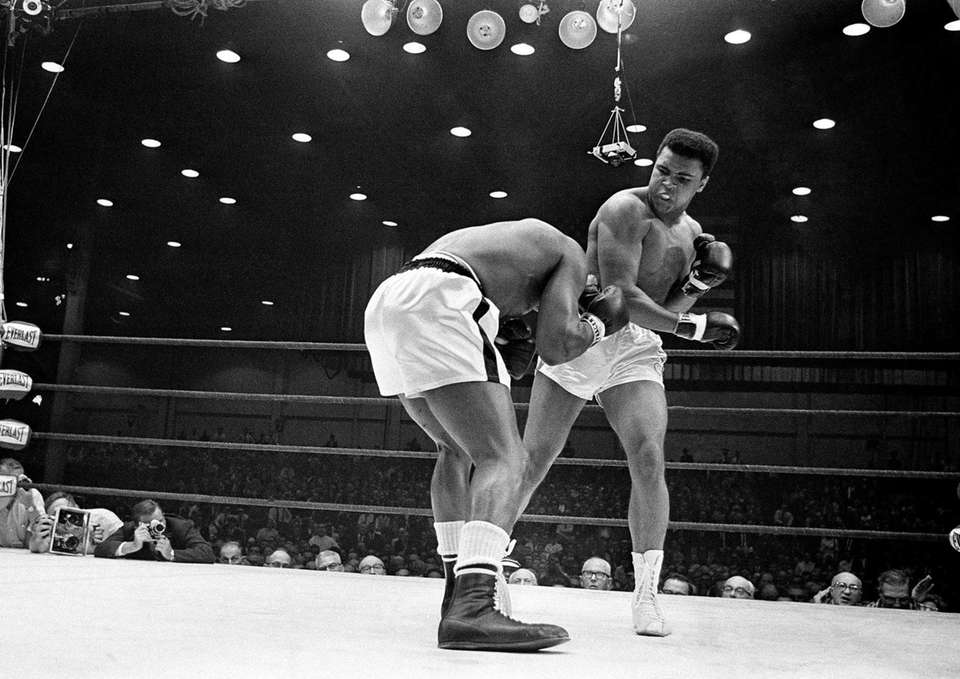 Muhammad Ali, or Cassius Clay as he was