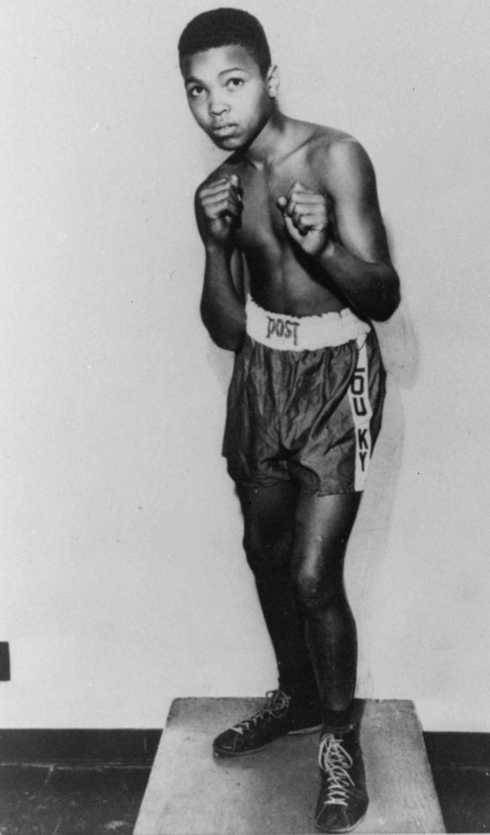 Jan. 17, 1942: Born Cassius Marcellus Clay Jr.,