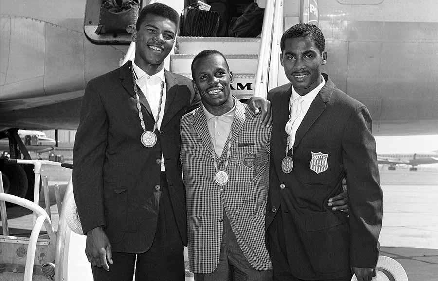 1960: Wins the light-heavyweight gold medal for the