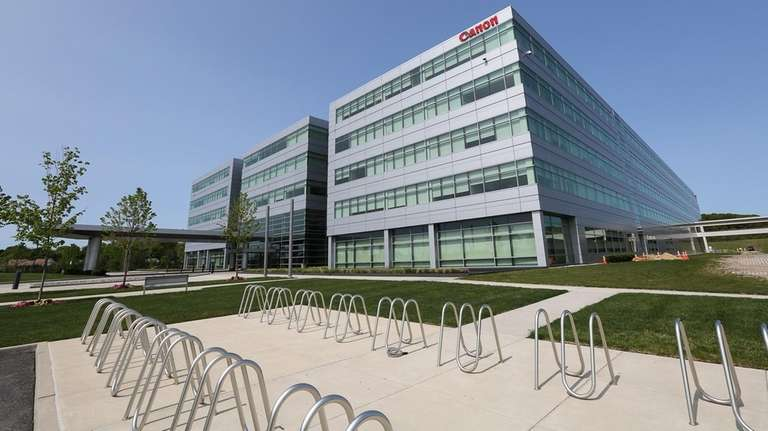 Canon U.S.A. Inc. headquarters in Melville on Friday,