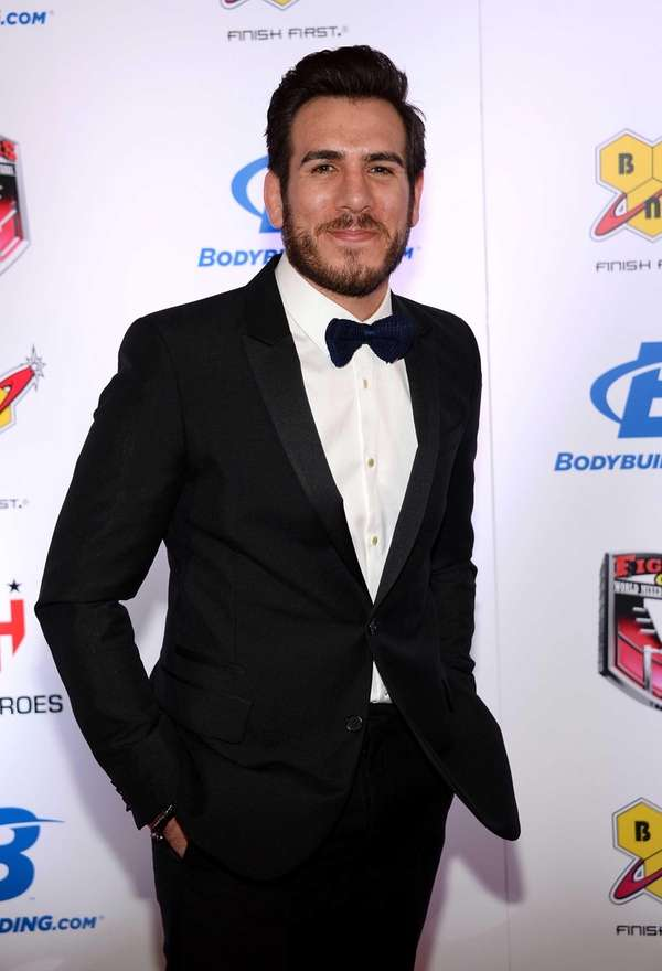 Former mixed martial artist Kenny Florian arrives at