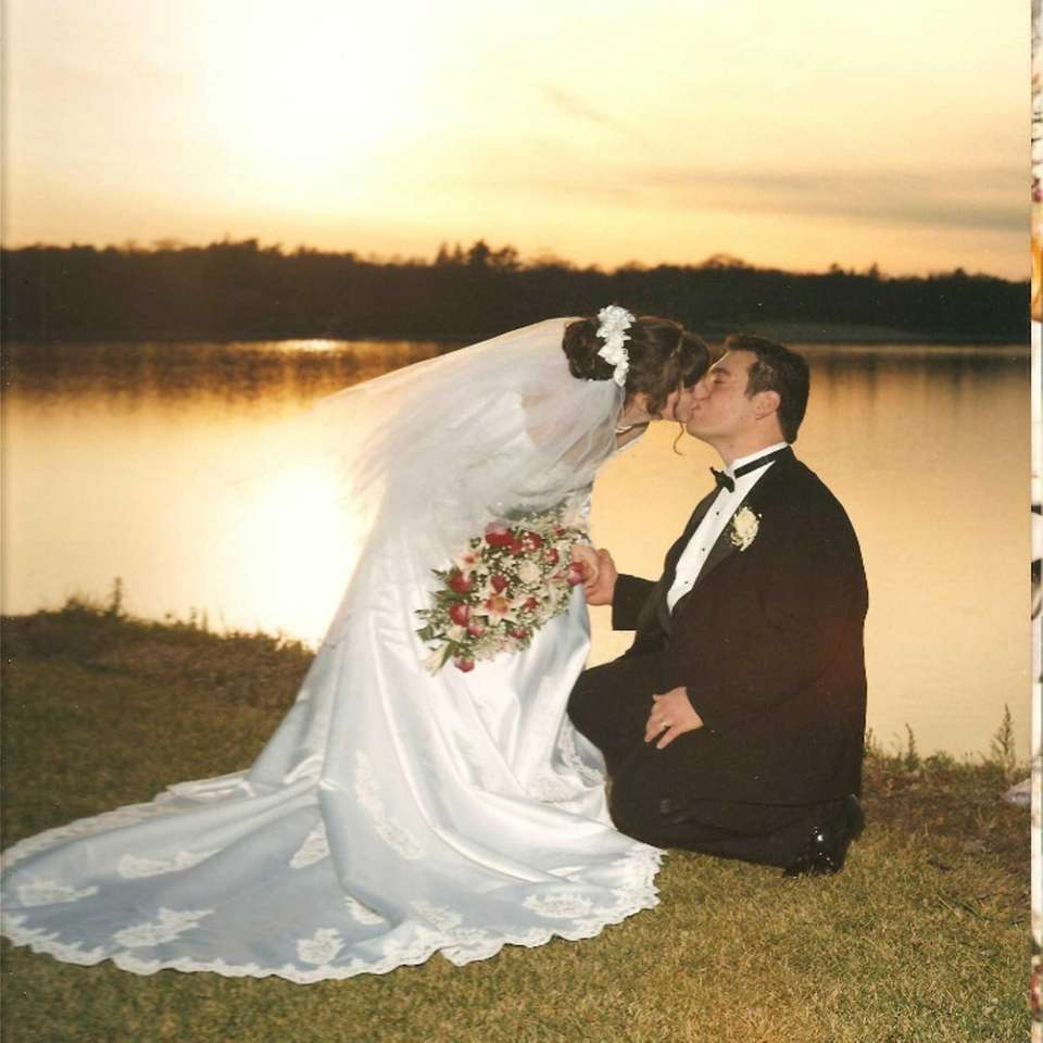 Christopher and Marie DeRosa, married on Nov. 29,