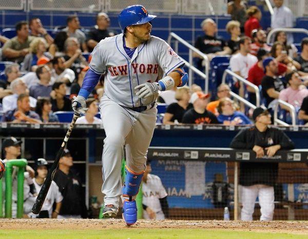 Rene Rivera #44 of the New York Mets