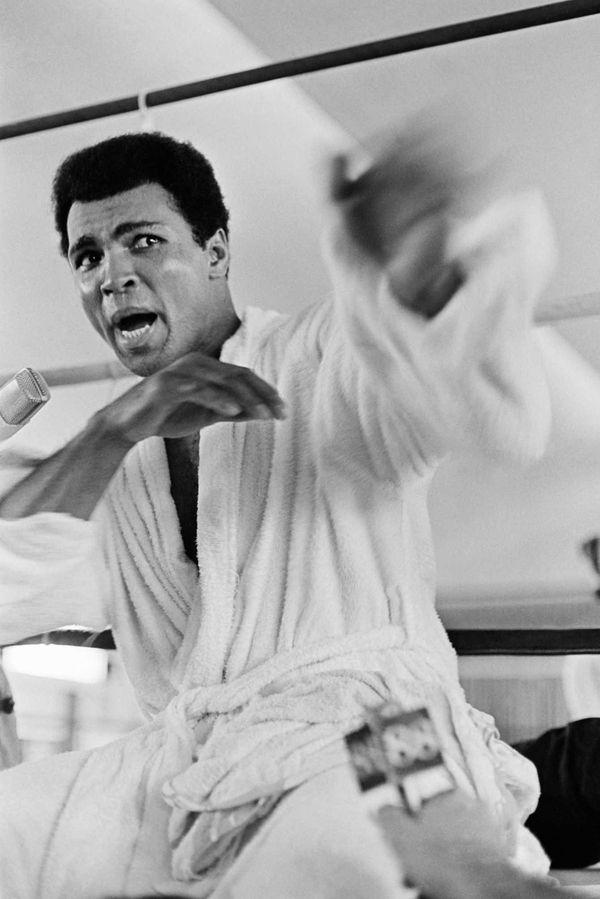 Heavyweight champion Muhammad Ali died Friday, June 3,