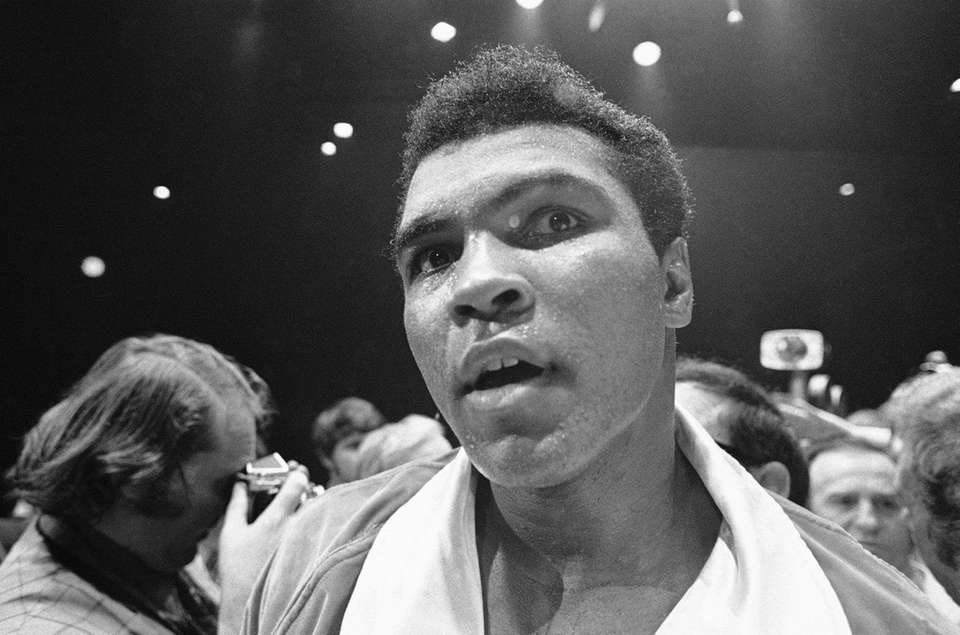 Prizefighter and humanitarian Muhammad Ali died June 3,