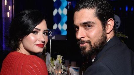 Singer-songwriter Demi Lovato and actor Wilmer Valderrama announced