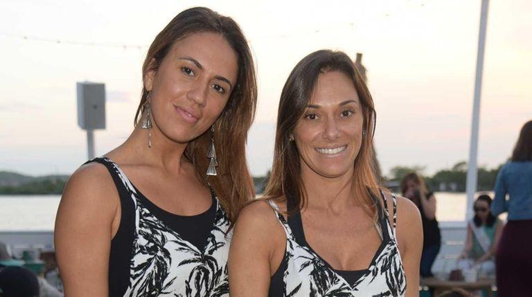 Marianna Mejias and Maria Marin attend Jonny Lennon's