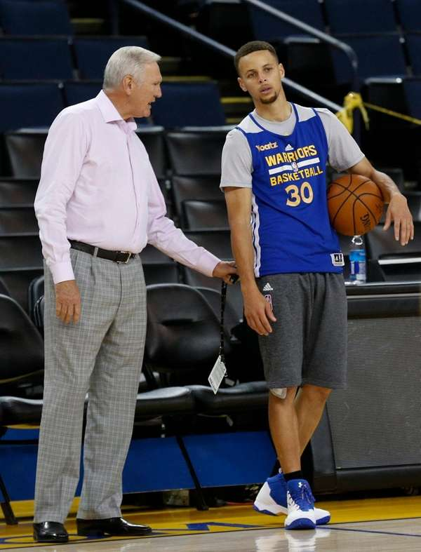 Golden State Warriors executive board member Jerry West