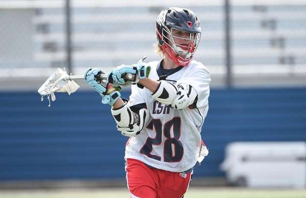 Cold Spring Harbor attacker Kevin Winkoff looks to