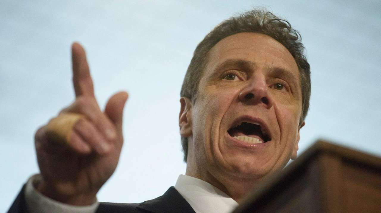 Gov. Andrew M. Cuomo signed an executive order