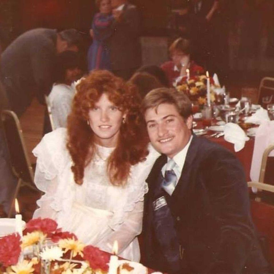Judy and David Kowal, June 20,1984. Our wedding