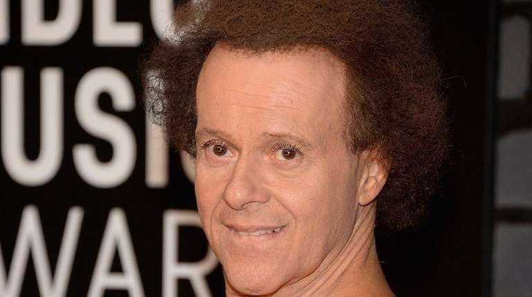 Richard Simmons, who has been out of public