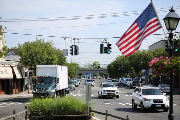 Amityville's portion of Route 110, known as Broadway