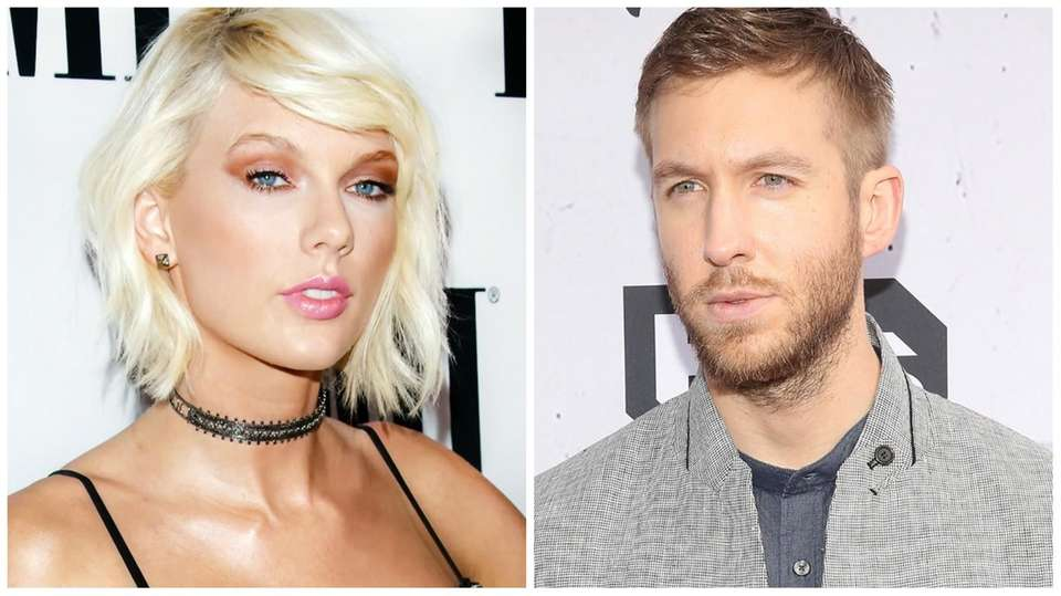 Taylor Swift and her boyfriend, Scottish DJ Calvin