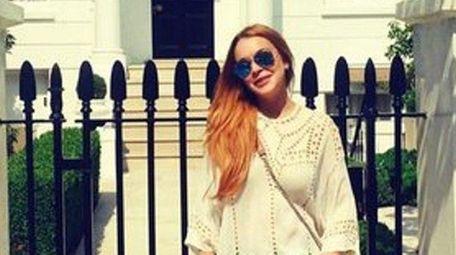 Lindsay Lohan posted on Instagram on Sunday, June